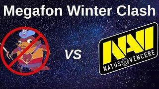 NAVI vs NO PANGOLIER FULL MATCH HIGHLIGHTS | MEGAFON WINTER CLASH