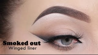 Smoked Out Winged Liner - MAKEUPBYAN