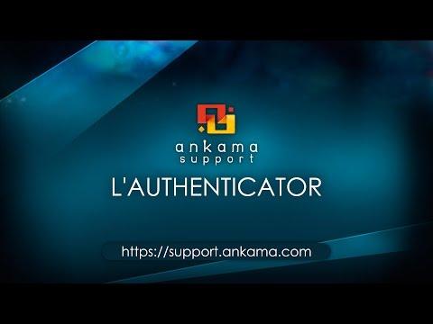 Ankama Support : Première utilisation de l'Authenticator - YouTube