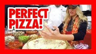 How to make a perfect pizza! #iJPizza | iJustine Cooking