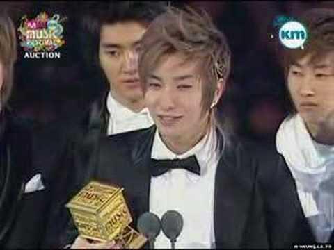 Super Junior - 071117 KM 2007 MKMF Artist of the Year