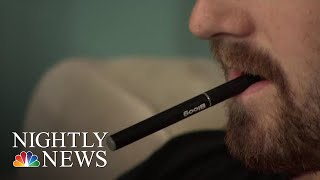 New Study Shows Rise In E-Cig Usage Among Teens | NBC Nightly News