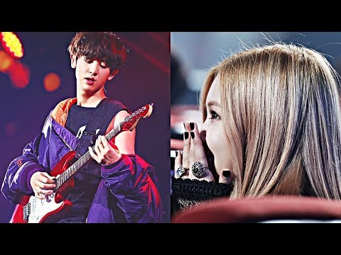 EXO's Chanyeol reaction to Blackpink's Rose in Boombayah!