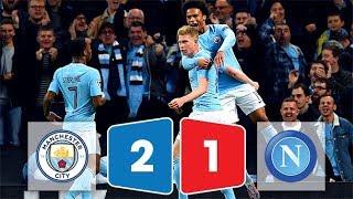 Kết quả bóng đá Man City vs Napoli 2-1 ngày 18/10/2017 (Champions League 2017/18)