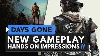 DAYS GONE | Hands On Gameplay Impressions