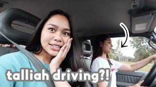 Talliah Driving + College Dorm Room Makeover! | ThatsBella