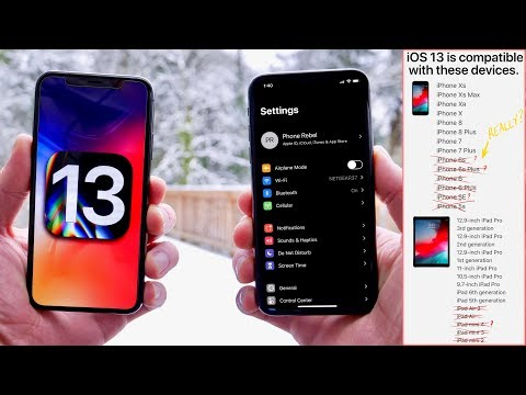 iOS 13! Features, iPhone Support, Dark Mode Demo, Release Date & More!