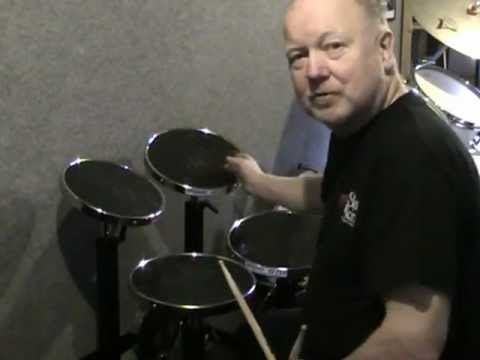 Bill Sanders BS 5 Drum Practice Kit