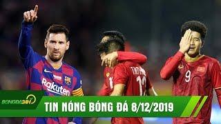 TIN NÓNG BÓNG ĐÁ 8/12: Messi chào QBV thứ 6 bằng hatrick đẳng cấp, U22 Việt Nam đè bẹp U22 Campuchia