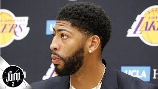 Anthony Davis says his future might include the Chicago Bulls | BS or Real Talk | The Jump