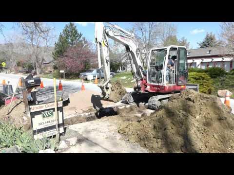 Sewer Excavation Boulder Colorado
