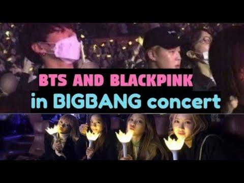 BLACKPINK and BTS love BIGBANG