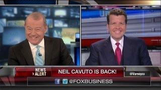 Varney welcomes back Neil Cavuto