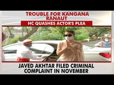 Bombay High Court dismisses Kangana Ranaut's plea in case filed by Javed Akhtar