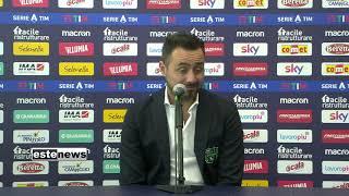 Bologna-Sassuolo 3-4, De Zerbi: