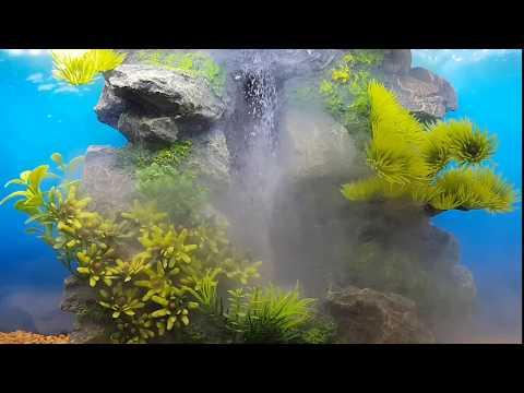 My Aquarium Waterfall Sandfall Videomoviles Com