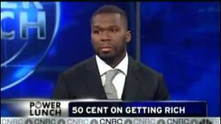 50 Cent and Robert Greene CNBC Interview About The 50th Law Book