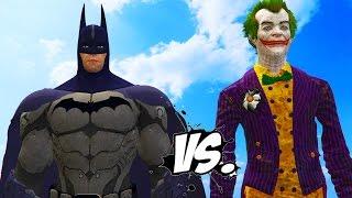 Batman vs The Joker - Epic Battle