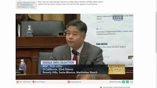 Google searches of Steve Scalise, Steve King demonstrated by Ted Lieu