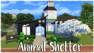 The Sims 4: Speed Build // ANIMAL SHELTER (CATS AND DOGS)