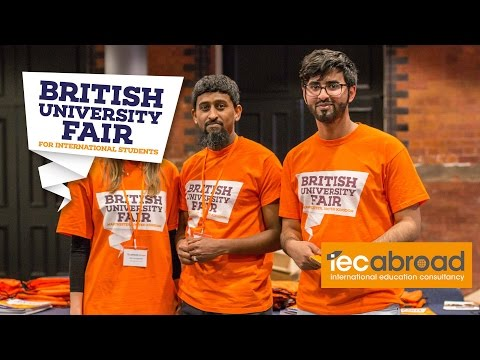 The British University Fair April 2016 - Highlights