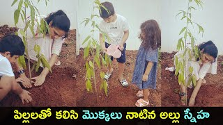 Stylish star Allu Arjun's wife Sneha Reddy accepts Green I..