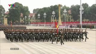 Lễ diễu binh kỷ niệm 70 năm Quốc khánh 2-9-2015 [Full - HD720p]