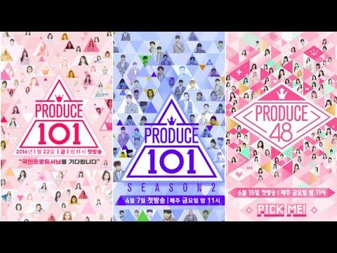 PRODUCE101 vs PRODUCE101 S2 vs PRODUCE48 (Debut, Main Vocal/Dance/Rapp, Center, Maknae, etc)