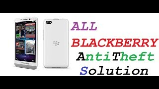 Blackberry Z3 stj100 anti theft remove easy with flash