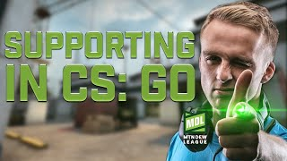 HOW TO SUPPORT IN CSGO (MDL PRO Tips by n0thing)