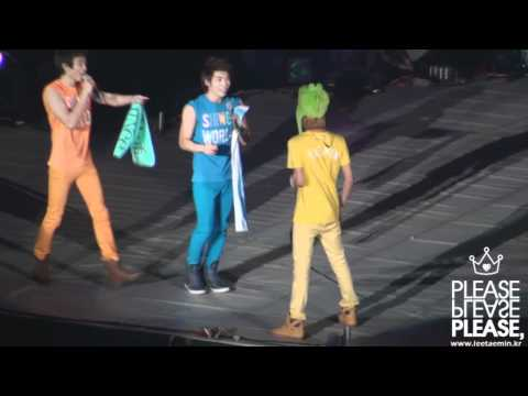[fancam] 110102 SHINee hyper Taemin at encore @ SHINee 1st Concert in Seoul