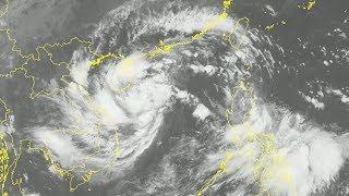 Tin Áp thấp nhiệt đới Mới Nhất 09/10/2017  :  Áp thấp nhiệt đới gần bờ - Trung Bộ sẽ có mưa lớn