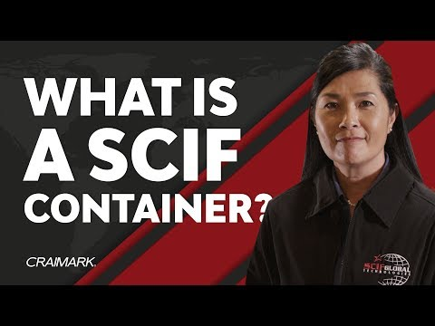 SCIF Container Unit - SCIF Global Technologies, LLC