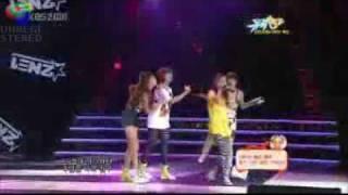 HD  090814 2ne1   I Don t Care  Remix Ver    Music Bank live
