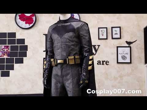 Justice League Batman cosplay costume detail overview