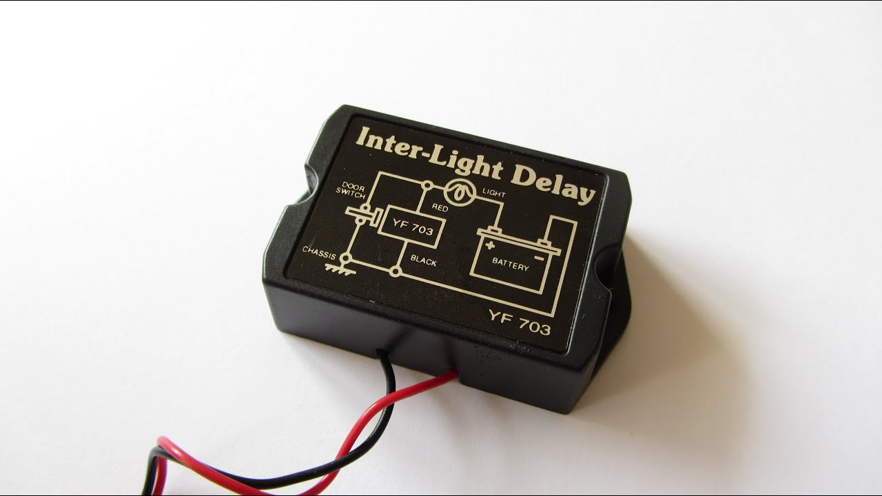 How To Wire Automotive Relay Auto Led Lights Inter Light