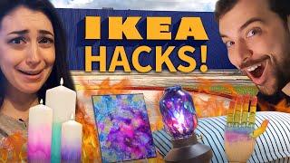 5 IKEA Hacks using Alcohol Ink