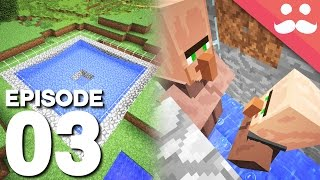 Hermitcraft 5: Episode 3 - IRON FARM!