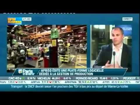 Apriso on BFM Business June 4, 2012 (France)