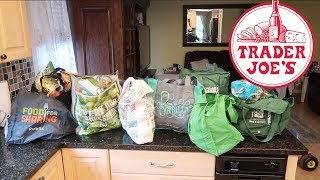 Huge Trader Joes Haul New Fun Products!!  Lets Hang + Chat About Food. YES.