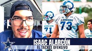 Tackle mexicano Isaac Alarcón comparte sus primeros días con los Cowboys | Dallas Cowboys 2020