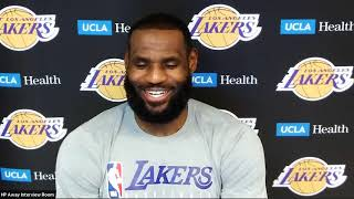 LeBron James Postgame Interview | Lakers vs Pacers | August 8, 2020
