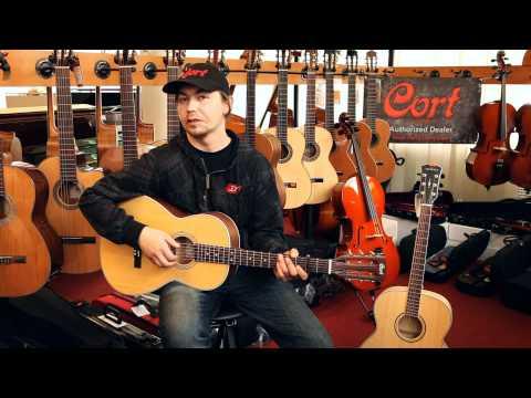 Cort L100P NS Acoustic Parlour Guitar