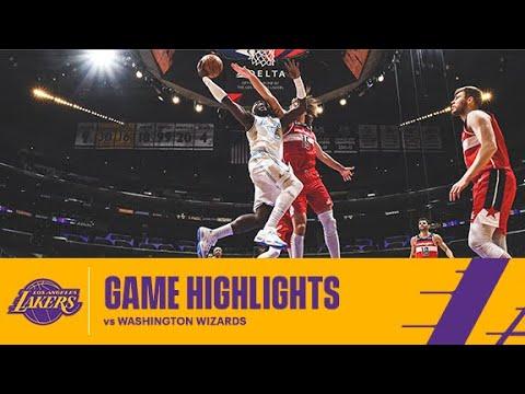 HIGHLIGHTS | Los Angeles Lakers vs Washington Wizards