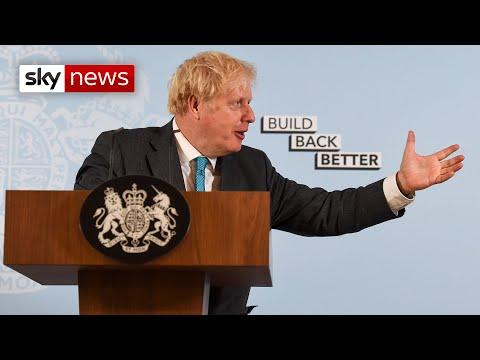 In full: Boris Johnson's 'Build Back Better' speech