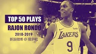 Rajon Rondo Top 50 Highlights of 2018-19 Regular Season