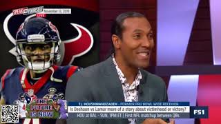 Jason Whitlock reacts to Is Deshaun vs Lamar more of a story about victimhood or victory?