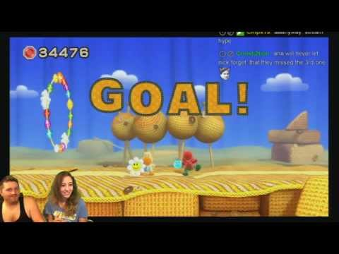 Aria and Nick Play Yoshi's Woolly World Part 2!