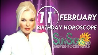 Birthday February 11th Horoscope Personality Zodiac Sign Aquarius Astrology