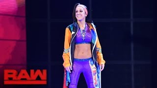 Bayley makes her official Raw debut: Raw, Aug. 22, 2016